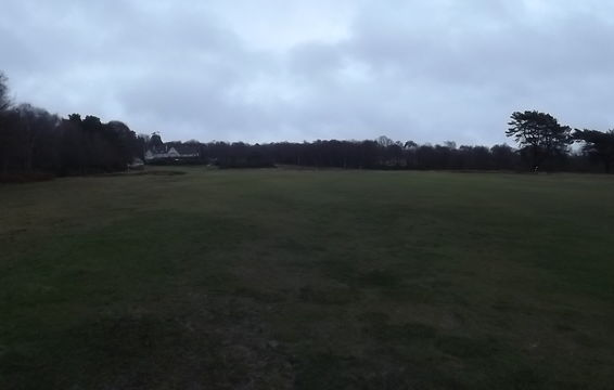 Prior to stripping viewed from the tee