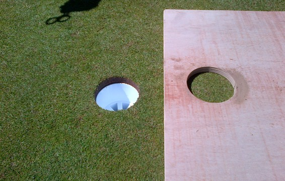 COMPLETED - A PERFECTLY CUT HOLE, EVERY TIME
