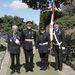 <President Crowborough Royal British Legion with the Lord Lieutenant and Legion Members.